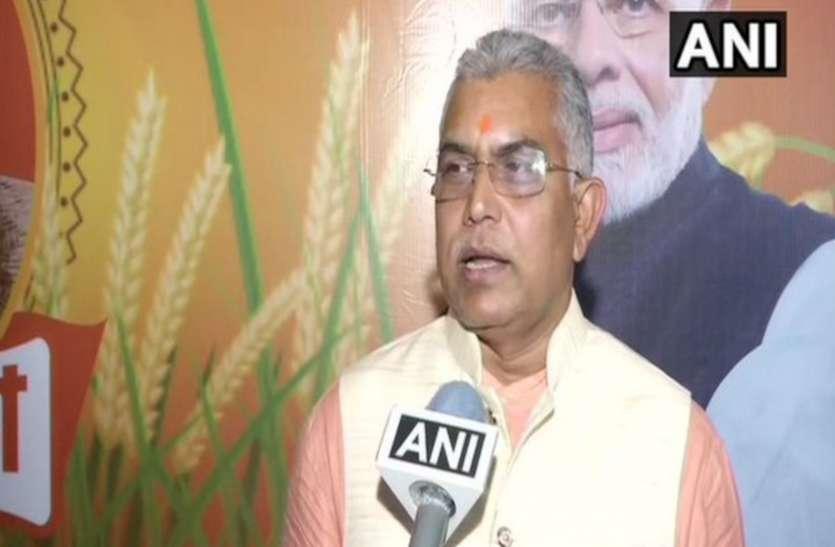 दिलीप घोष ने कहा, पश्चिम बंगाल विधानसभा चुनाव में हुईं गलतियों को सुधारेंगे
