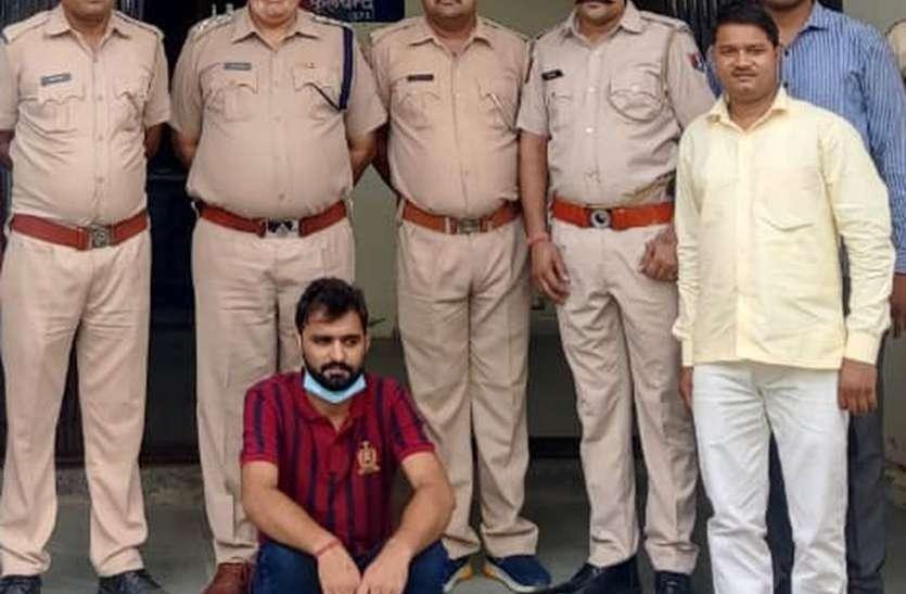 डॉ.महेश की मौत का  मामला,  तीसरे इनामी आरोपी को भी किया गिरफ्तार