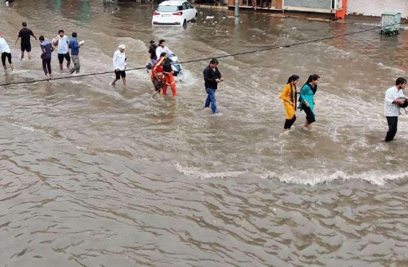 Weather News Rajasthan: आज 5 से अधिक जिलों में भारी बारिश होने की संभावना