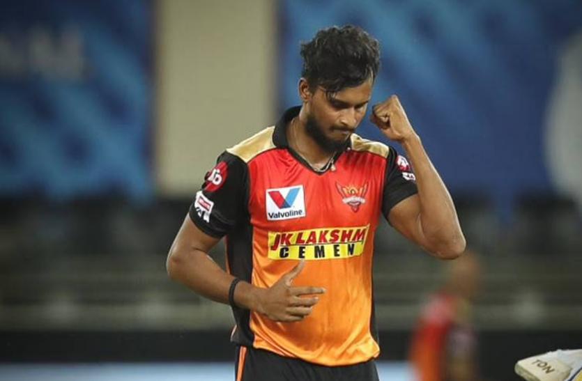 IPL 2021: दूसरे चरण पर भी मंडराया कोरोना का साया, सनराइजर्स हैदराबाद के गेंदबाज नटराजन कोविड 19 पॉजिटिव