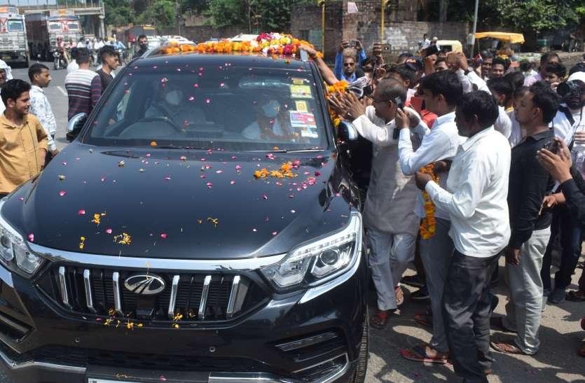 केन्द्रीय मंत्री सिंधिया के आगमन पर जिले में खुलकर नजर आई भाजपा की गुटबाजी