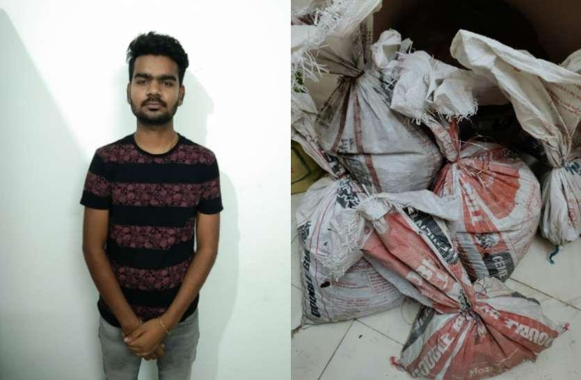 पुलिस को दबिश के दौरान मिली बड़ी सफलता, ढाई करोड़ रूपये के चांदी और तांबे का जखीरा बरामद