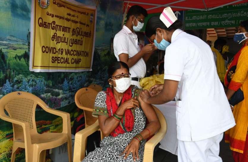 तमिलनाडु में मेगा टीकाकरण का तीसरा अभियान 26 को, 15 लाख लोगों को टीका लगाने का लक्ष्य