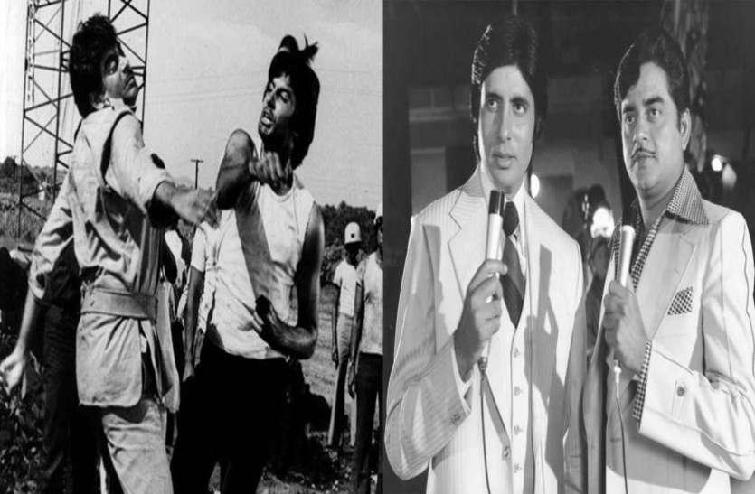 अमिताभ बच्चन और शत्रुघ्न सिन्हा के बीच लड़ाई का कारण कौन सी दो अभिनेत्रियां थीं?