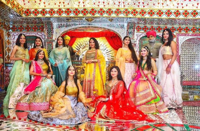 photo shoot पारम्परिक परिधान में नजर आई राजस्थानी संस्कृति