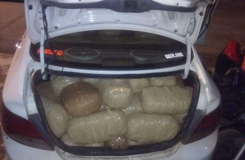 छत्तीसगढ़ से कोतमा आ रहे 140 किलो गांजा को पुलिस ने किया जब्त, दो आरोपी भी गिरफ्तार
