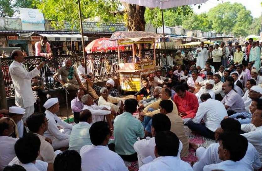 सीएम ने श्योपुर बाढ़ पीडि़तों के लिए मुंह खोला, खजाना नहीं: चौहान