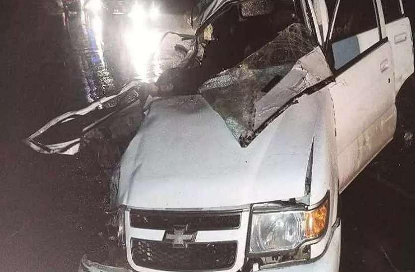 रीवा में भीषण सड़क दुर्घटना में चार की मौत, तीन गंभीर