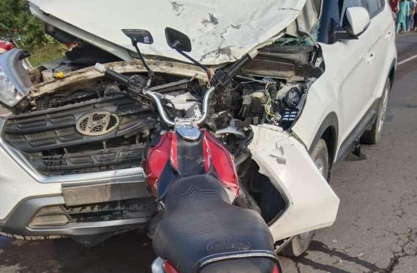 Hanumangarh Accident: कार की चपेट में आई बाइक, दो चचेरे भाइयों की मौत