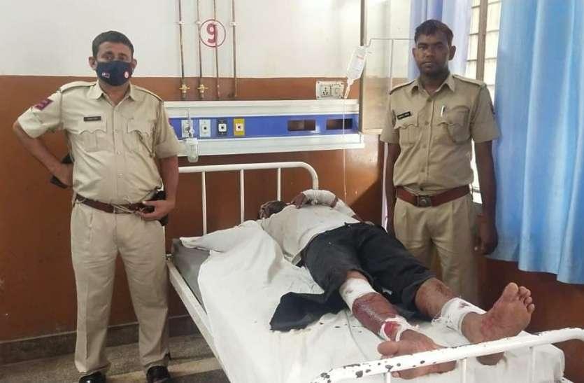 मेहंदीपुर बालाजी. हथियारबंद चार बदमाशों ने किया धर्मशाला संचालक पर हमला
