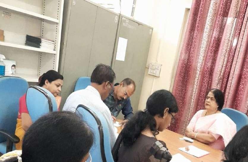 College news: गल्र्स कॉलेज का छिंदवाड़ा विश्वविद्यालय टीम ने किया निरीक्षण