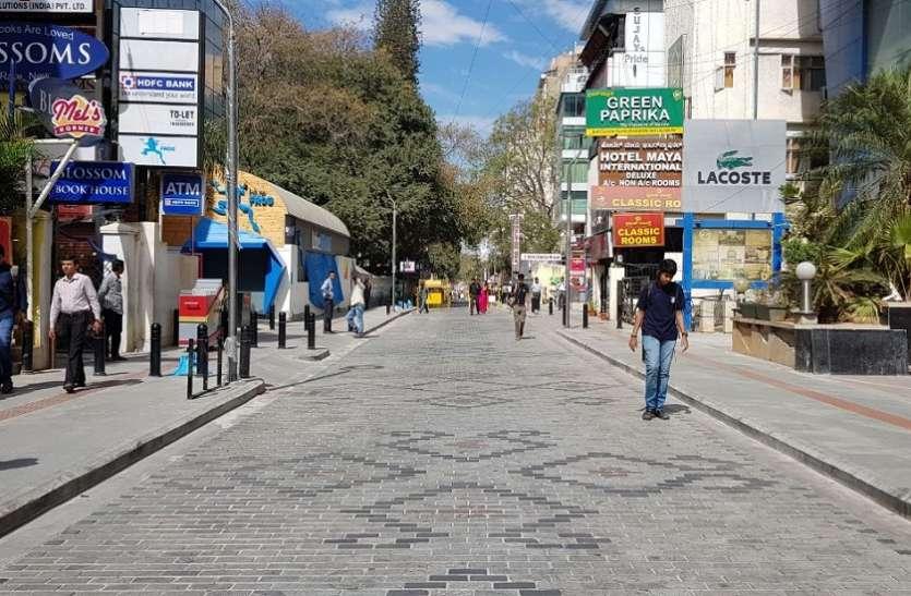 शहर की तीन और सड़कों पर लागू होगी चर्च स्ट्रीट जैसी पैदल यात्री योजना