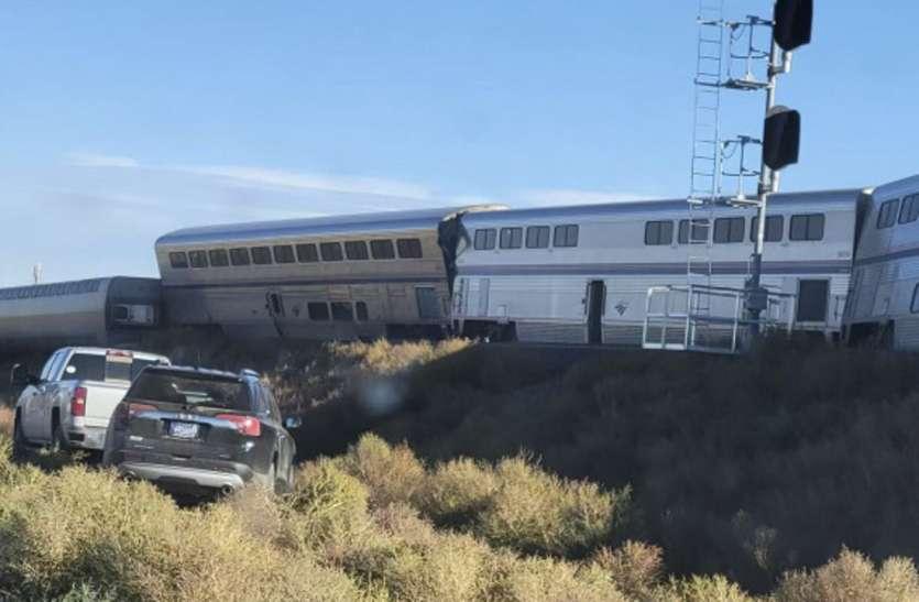 अमरीका में रेल हादसा, तेज रफ्तार ट्रेन पटरी से उतरी, कई यात्रियों के मरने की आशंका, दर्जनों घायल