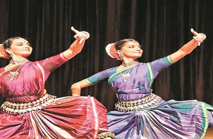 नृत्य से किया भगवान राम के शोभायमान रूप का वर्णन