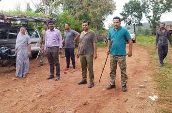 जुनी रणा के बाद पाल इलाके में पैंथर की गतिविधियां, मौके पर खेत में मिले पगमार्क