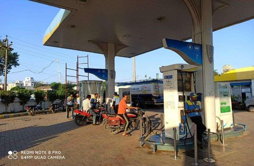 पेट्रोल-डीजल ने बिगाडा रसोई का बजट, थाली से सब्जियां गायब