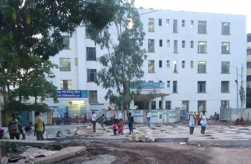 खुशखबर ...मदर-चाइल्ड हॉस्पिटल, Durg जाने के रास्ते का काम शुरू