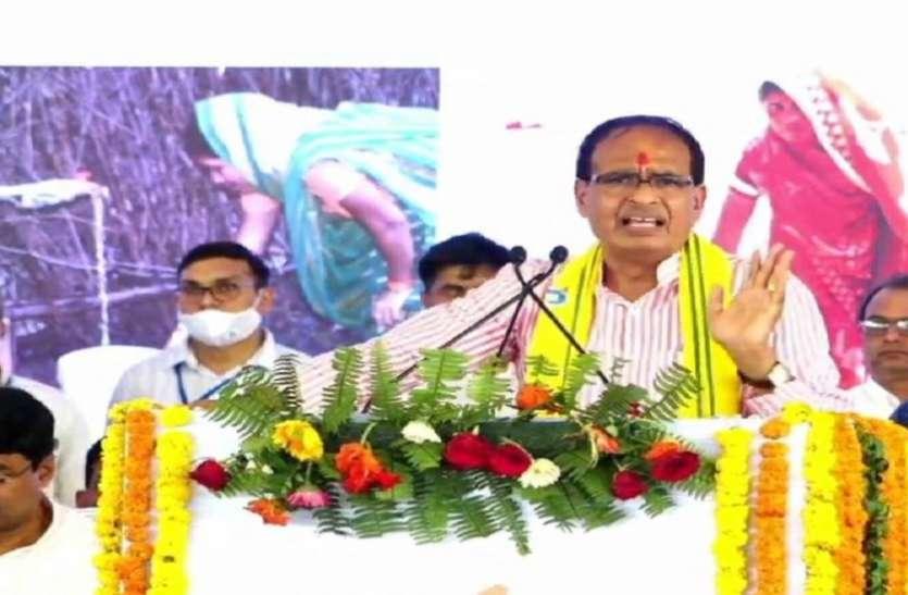 CM Shivraj Chauhan ने विंध्य क्षेत्र को दी करोड़ों की सौगात