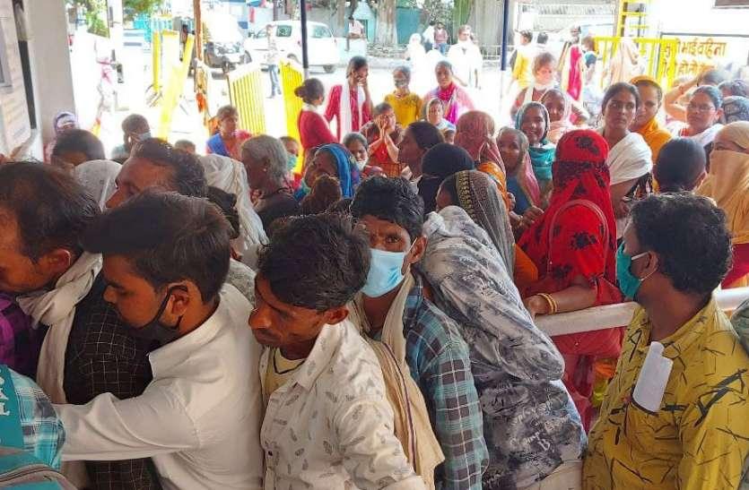 जिला अस्पताल में सोमवार को पहुंचे 769 मरीज