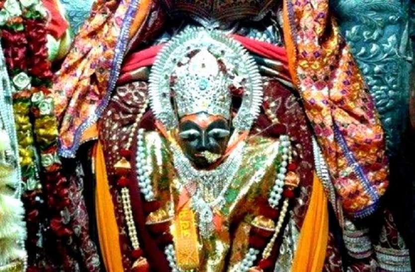 शारदीय नवरात्र में मां शारदा के दर्शन को उमड़ने वाली भीड़ पर होगी ड्रोन कैमरे की नजर
