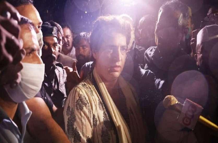लखीमपुर खीरी हिंसा मामला : प्रियंका गांधी गिरफ्तार कई बड़े विपक्षी नेता हाउस अरेस्ट