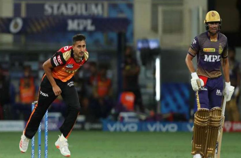 IPL 2021: SRH के इस गेंदबाज ने डेब्यू मैच में डाली इतनी तेज बॉल, रिकॉर्ड बुक में दर्ज कराया नाम