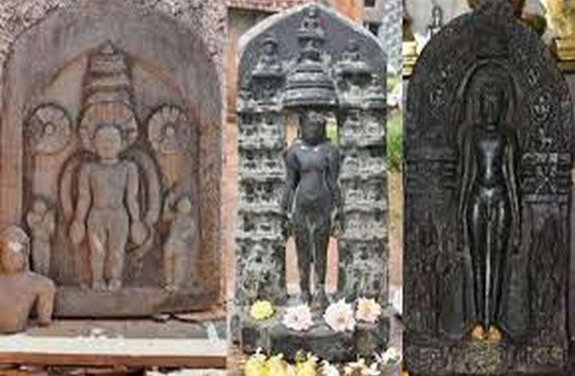 धारवाड़ में मिली तीर्थंकरों की चार प्राचीन मूर्तियां