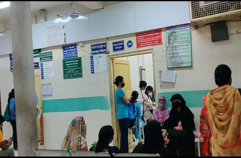 ayurved hospital: अब हर दिन की ओपीडी एक हजार से ज्यादा