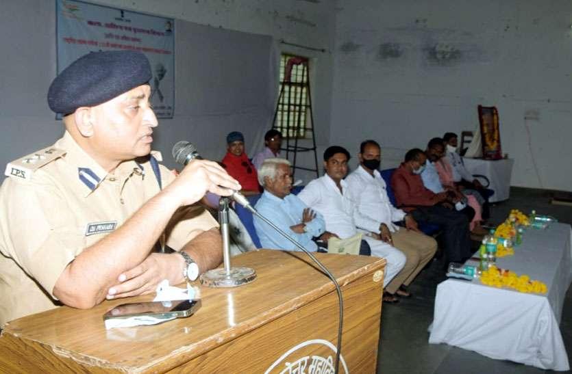 गांधी के जीवन दर्शन को हर व्यक्ति जीवन में चरितार्थ करें - पुलिस अधीक्षक