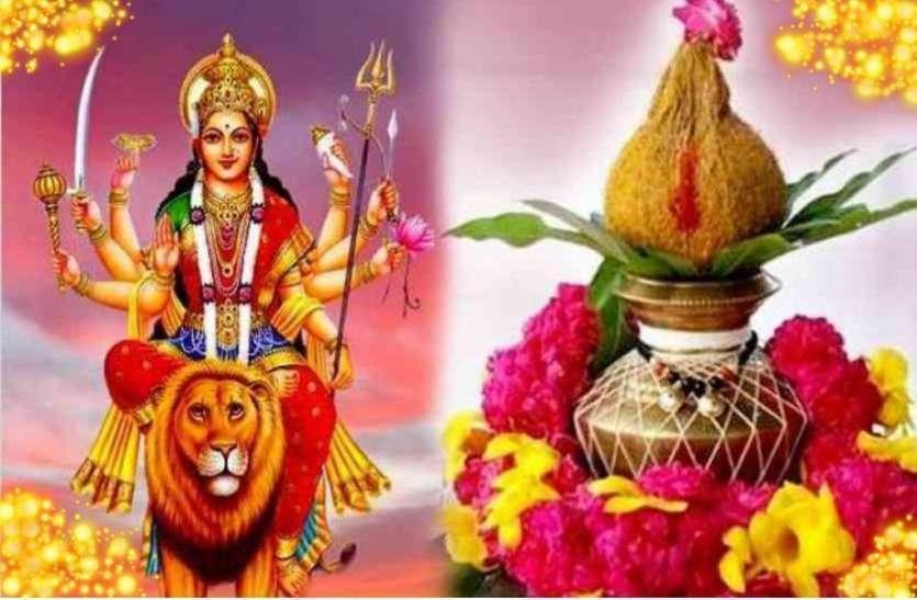 नवरात्रि में चित्रा नक्षत्र व वैधृति योग में कल डोली पर सवार हो आएगी मां