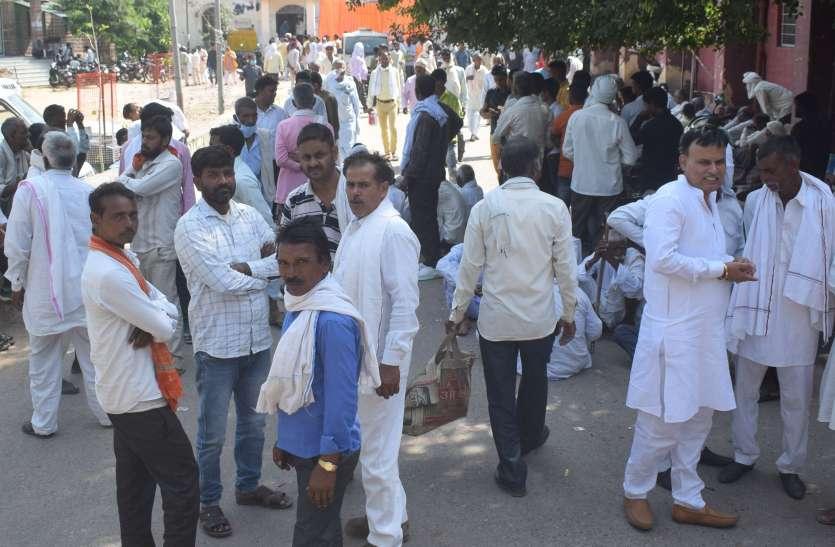 पंचायत चुनाव: नामांकन के अंतिम दिन लगा अभ्यर्थियों का तांता