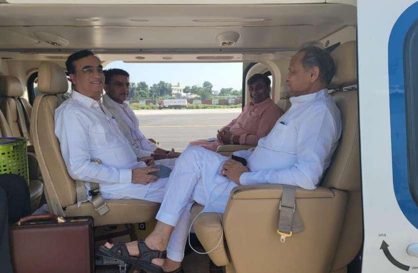 Rajasthan Assembly By Election: गहलोत-पायलट ने भरी उड़ान