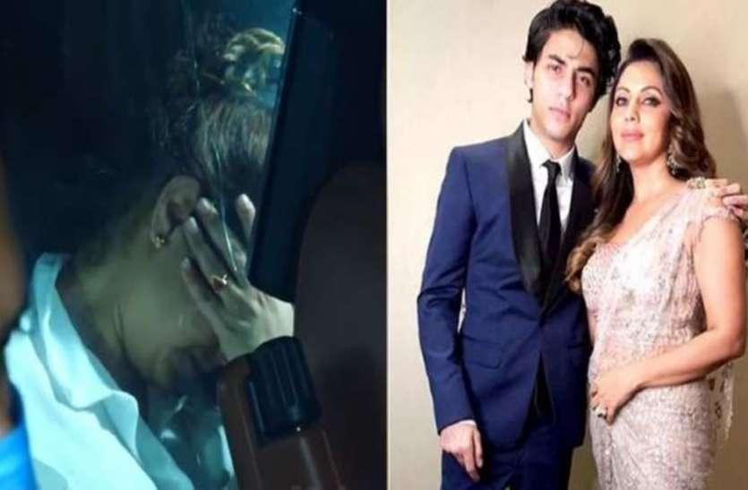 गौरी खान का जन्मदिन के दिन वीडियो वायरल, बेटे को हिरासत में देख फूट-फूट कर रोने लगीं गौरी खान