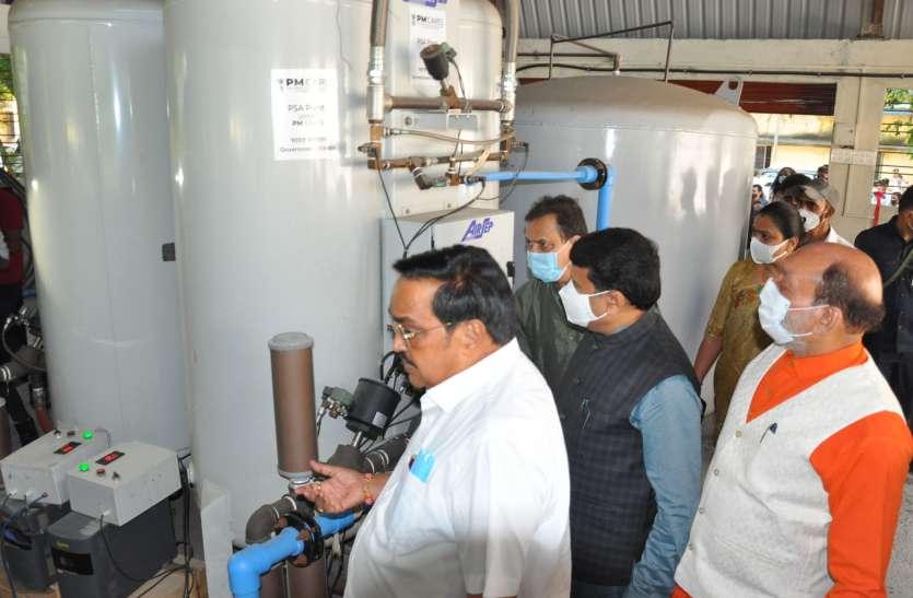 सांसों को सहारा, पीएम ने गुजरात के 18 ऑक्सीजन प्लांट का किया लोकार्पण