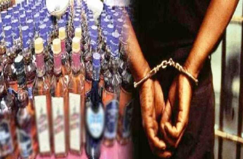 दिल्ली और गुजरात से नामी कम्पनियों की नकली शराब बनाने सामान की करते थे सप्लाई, गिरफ्तार