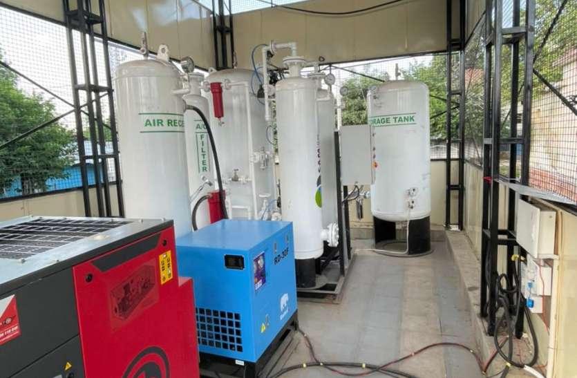 जिले में पहले ऑक्सीजन प्लांट का शुभारंभ कल