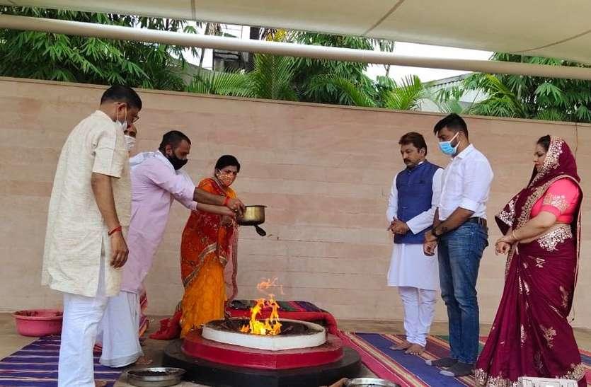 सुसवाणी माता धाम में नवरात्रि महोत्सव शुरू