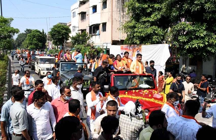 Gujarat Hindi News : कोविड के खिलाफ जंग जारी, जीत हासिल करने का लक्ष्य : संघवी