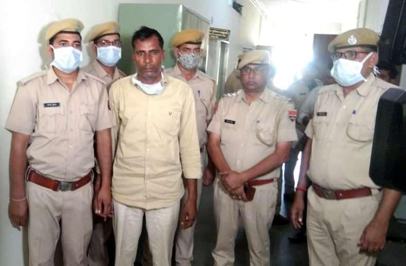 बलात्कार और हत्या के बाद आरोपी जाकर आश्रम में छिपा, पुलिस ने किया गिरफ्तार