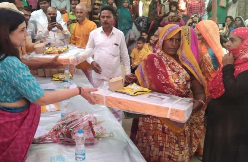 Maneka Gandhi. उज्ज्वला योजना गरीबों के लिए साबित हुई वरदान, सुलतानपुर में बोलीं मेनका गांधी
