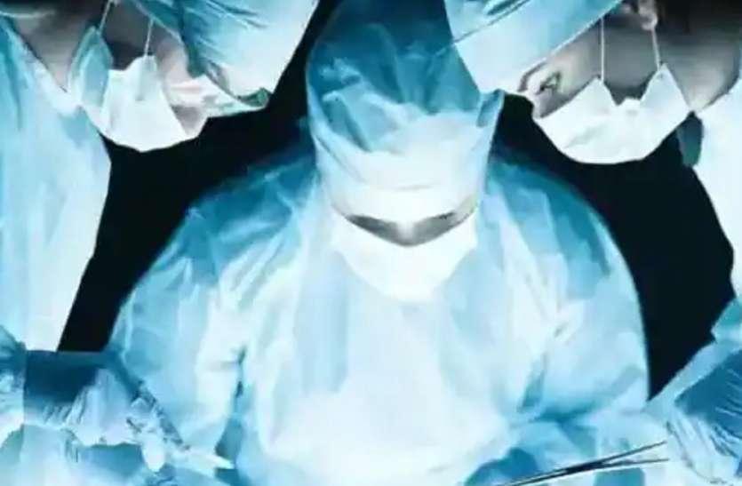 जूनियर डॉक्टरों का कमाल, दो हिस्सों में बंटे बच्ची के चेहरे को सर्जरी से जोड़ा