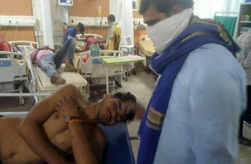 दलित समाज की मीटिंग से नाराज हथियारबंद दबंगों ने किया दलित परिवार पर हमला