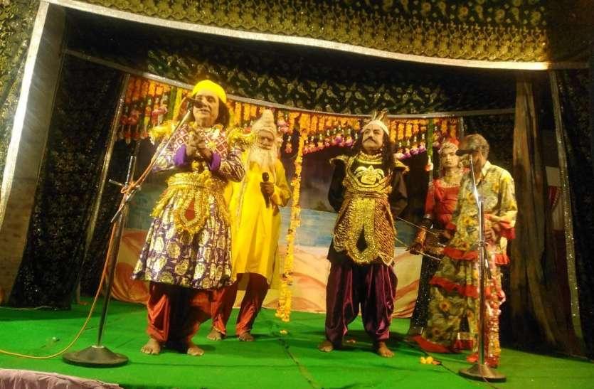 प्रजा को रोता छोड़ अयोध्या से चले राम