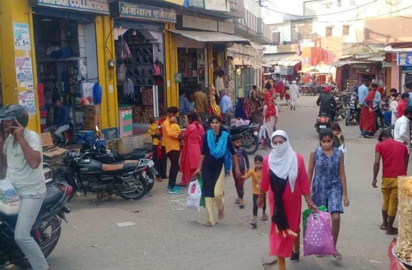 नवरात्र पर्व से गुलजार होने लगे बाजार, दीपावली पर्व से व्यापार-रोजगार रफ्तार पकडऩे की उम्मीदें