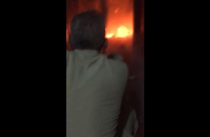 विंध्याचल मंदिर में लगी आग, फायर ब्रिगेड मौके पर, कैसे लगी थी आग?