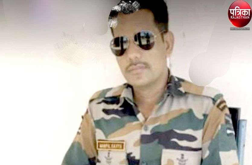 बीमारी से पाली के वायुसेना के जवान का दिल्ली में निधन