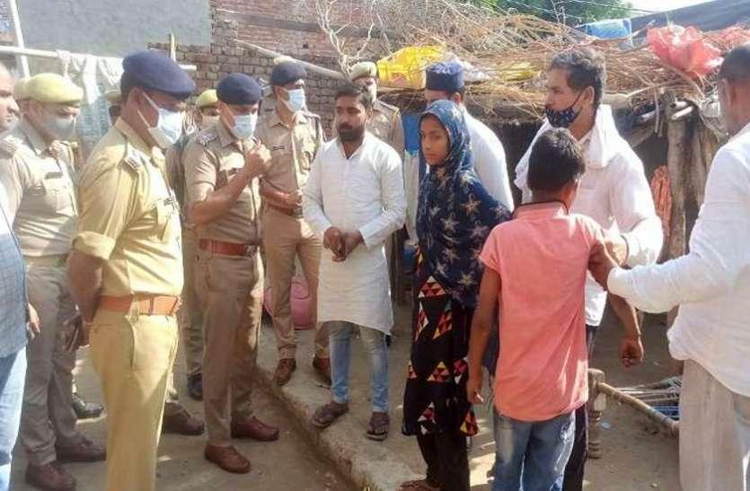 बकरी चोरों से भिड़ी विधवा महिला के पेट में घोंपा चाकू, कार से रौंदने का किया प्रयास