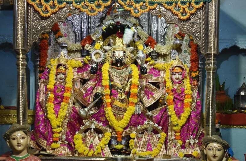 तिरुपति के साथ ही विदिशा के बालाजी का भी मन रहा विवाह महोत्सव