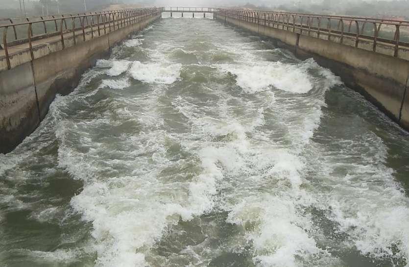 कोटा बैराज से 20 को छोड़ा जाएगा नहर में पानी, 23 अक्टूबर को मप्र की सीमा में देगा दस्तक