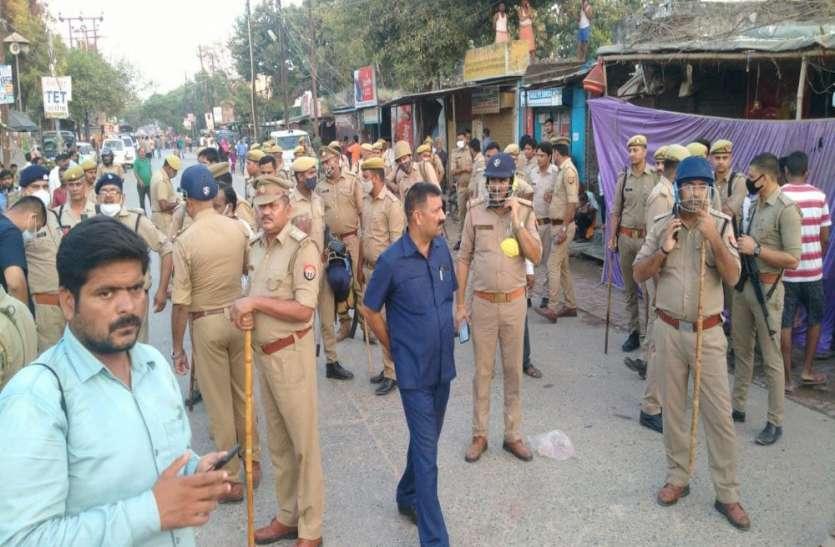 Ayodhya : दुर्गा पूजा पंडाल में फायरिंग, एक की मौत, परिजनों ने शव रखकर किया रोड जाम